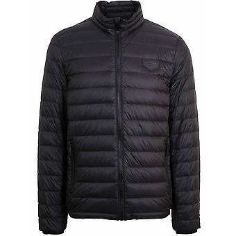 Antony Morato Black Lightweight Bubble Jacket