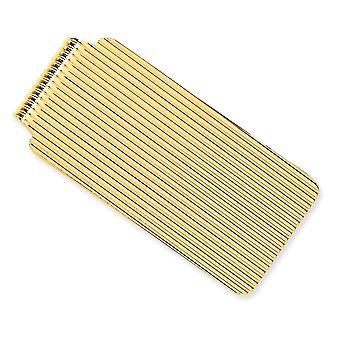 14k Yellow Gold Solid Money Clip Sieraden Geschenken voor mannen - 17,6 gram