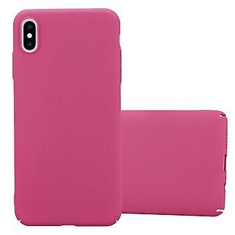 Cadorabo-taske til Apple iPhone XS MAX-etui-hardcase plastik telefon sag mod ridser og bump-beskyttende etui kofanger Ultra Slim back case hårdt dæksel