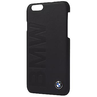 BMW Leather Hard Case Protective Case for Apple iPhone 7/8 Cover Black Case Case