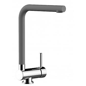 Single-lever Kitchen Sink Mixer With L Swivel Folding Cement Spout - 104