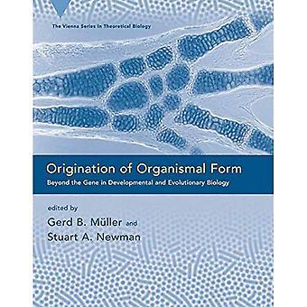 Origen de la forma: más allá del Gene en biología evolutiva y del desarrollo (serie de Viena en biología teórica)