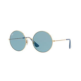 Ray-Ban Ja-Jo RB3592 001/F7 Gold/Blue Mirror Sunglasses