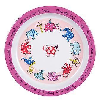 Tyrrell Katz Elephants Plate