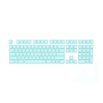 Mionix Keycaps volledige set voor mechanische RGB gaming toetsenbord VS/UK Turquoise