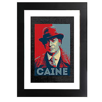 TV Times Michael Caine In Jack The Ripper Framed Print