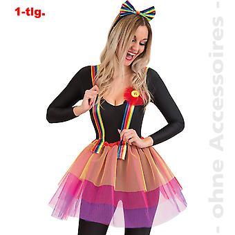 Rainbow tyl nederdel neon damer kostume Unicorn tyl nederdel dame kostume