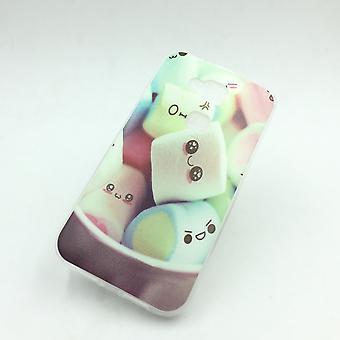 Mobile Shell voor Huawei G8 marshmallows pouch gevaldekking van het geval + 1 x tank bescherming glas