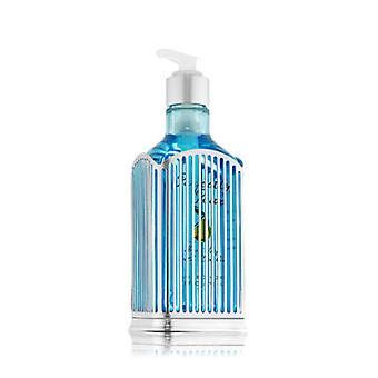 Bath & Body Works Silver Vertical Stripe Specialty Hand Soap Sleeve