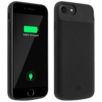 iPhone 6, 6S, 7 and 8 Battery Case 2800 mAh Black Mocca Design