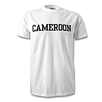 Kamerun Country t paita