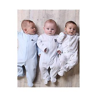 The Essential One Baby Boys Pastel Sleepsuits - 3 Pack