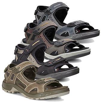ECCO Mens 2020 Offroad Nubuck Yak nahka kevyt tukeva sandaalit