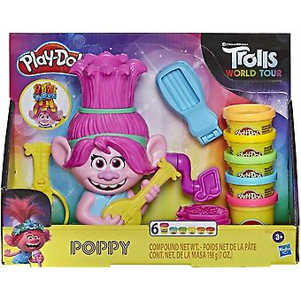 Trolls World Tour Play-Doh Trolls Poppy