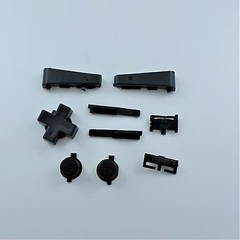 Full button set for game boy micro nintendo console replacement - black | zedlabz