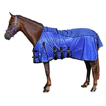 QHP Anti-Fly Combo blanket Blue (Horses , Horse riding equipment , Bed covers , Others)