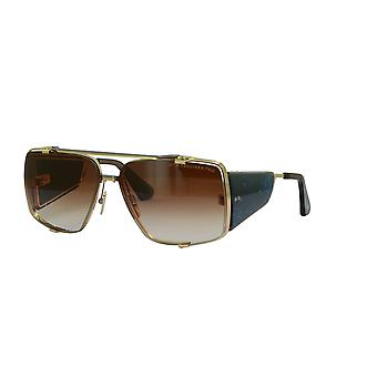 DITA Souliner Two DTS136 02 White Gold Black Palladium Dark Brown Crystal/Dark Brown Sunglasses