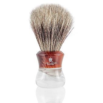Vie lange 14833 Mix grævling og hestehår barbering børste