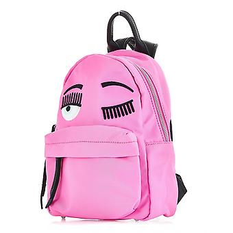 Chiara Ferragni Cfz06092 Women's Pink Nylon Backpack