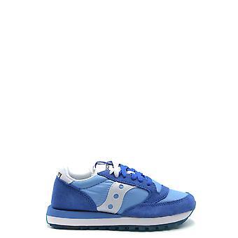 Saucony Ezbc430005 Women's Blue Suede Sneakers