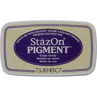 Stazon Pigment Ink Pad-Grape Candy