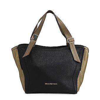 Trussardi Original Women All Year Shopping Bag - Black Color 49129