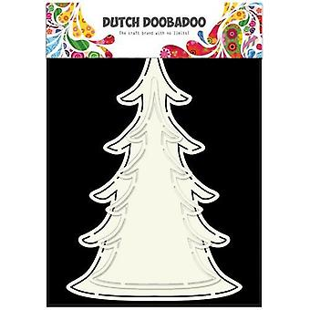 Olandese Doobadoo Dutch Card Art Albero di Natale (2x) 470.713.643