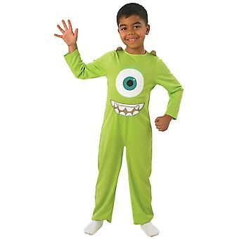 Monsters Inc Childrens/Kids Mike Costume
