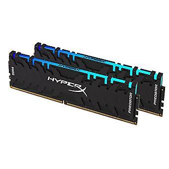 HyperX Predator HX429C15PB3AK2/16 DDR4 16 GB minne (Kit 2 x 8 GB), 2933MHz CL15 DIMM XMP - RGB