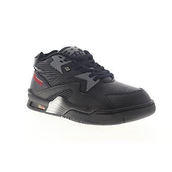 British Knights Control Mid  Mens Black Lifestyle Sneakers Shoes