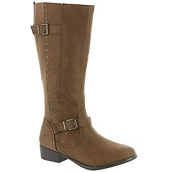MIA AMORE Luise Women's Knee High, Color: Brown, Size: 7.5M