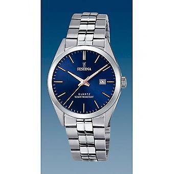 Festina - Wristwatch - Uomini - F20437/B - Cinghia in acciaio Classic