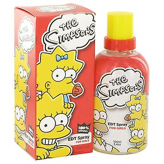 The Simpsons door Air Val internationale Eau De Toilette Spray 3.4 oz/100 ml (vrouwen)