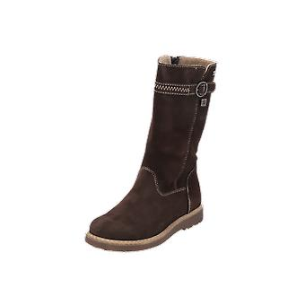Judge Boots Kids Girls Boots Brown Lace-Up Boots Winter