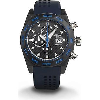 LOCMAN - Wristwatch - Men - 0218C09A-CBCBNKS2K - STEALTH 300MT QUARTZ CHRONOGRAPH