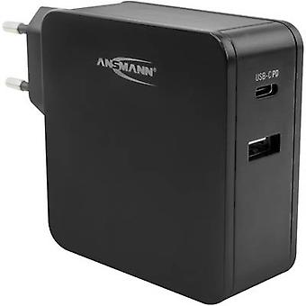 Ansmann Home Charger 254PD 1001-0096 USB charger Mains socket 2 x USB, USB-C socket