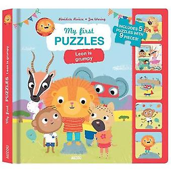 My First Puzzles - Leon is Grumpy by Benedicte Rivere - 9782733867518