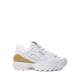 Fila - Shoes - Sneakers - DISRUPTOR-PREMIUM_1FG - Women -- white,gold - EU 41
