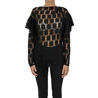 Isabel Marant ÉToile Ezgl287042 Women's Black Cotton Top