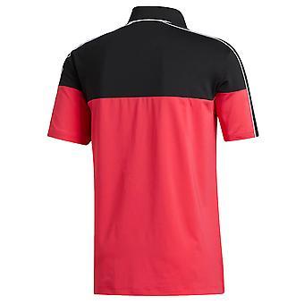 adidas Golf Mens 2020 Ultimate365 Blocked Hydrophilic Polo Shirt