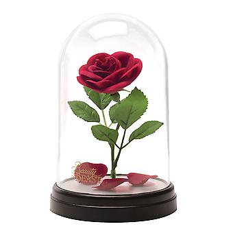 Enchanted Rose Light officiellement sous licence Disney Beauty & the Beast Collectable