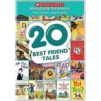 20 cuentos de amigo mejor [DVD] los E.e.u.u. la importación