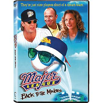 Major League: Back to the Minors [DVD] USA import