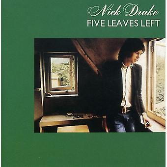 Nick Drake - fem lämnar vänster [CD] USA import