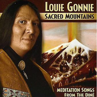 Louie Gonnie - Sacred Mountains [CD] Usa import