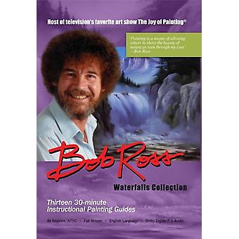 Bob Ross - Joy of Painting-Waterfalls Collection [DVD] USA import
