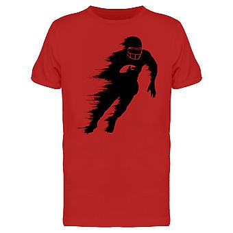 Fading Running Football Player  Tee Men's -Image by Shutterstock