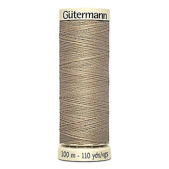 Gutermann sy-alle 100% polyestertråd 100m Hånd- og maskinfarvekode - 464