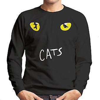 Cats Musical Logo Men's Sweatshirt