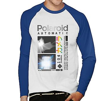 Polaroid Endless Adventures Men's Baseball langärmeliges T-Shirt